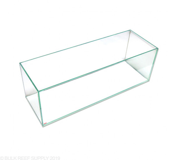22 Gallon Exquisite Rimless Tank - Low Iron Glass - Mr. Aqua