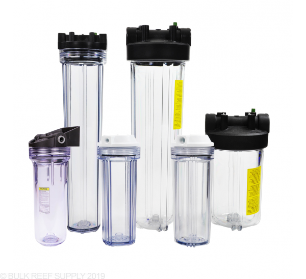 Reverse Osmosis and Reactor Canisters - Bulk Reef Supply