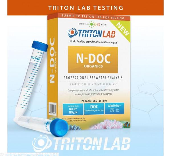 N-DOC Organics Seawater Analysis - Triton