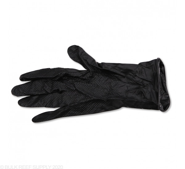 Textured Nitrile Black Fragging Gloves