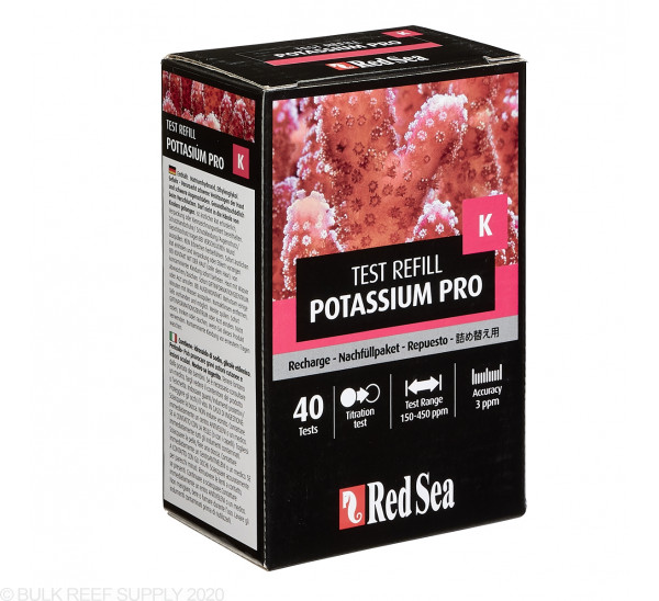 Red Sea Potassium Pro Reagent Refill Kit
