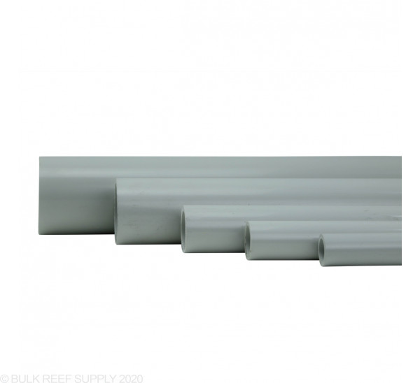 Grey Furniture Grade Schedule 40 Pipe (5 ft)