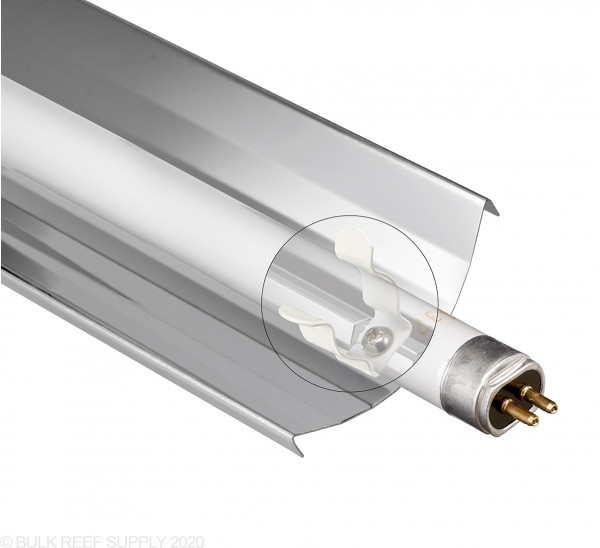 LET Single T5 Reflector - Includes Bulb Clips