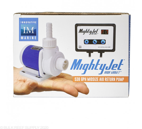 AUQA Gadget - MightyJet Desktop - Controllable D/C Return Pump 538 GPH