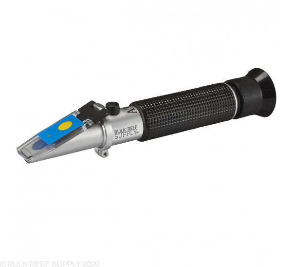 LED Refractometer for Reading Salinity with Calibration Fluid - Bulk Reef Supply