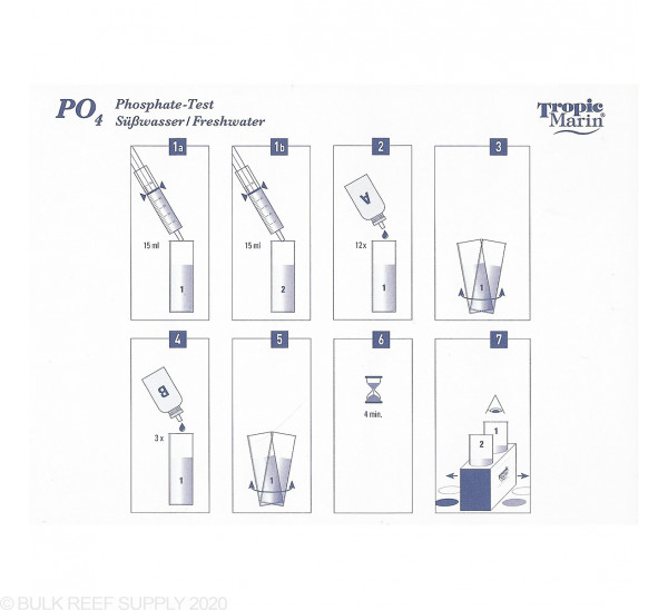 Pro Phosphate PO4 Test Kit - Tropic Marin