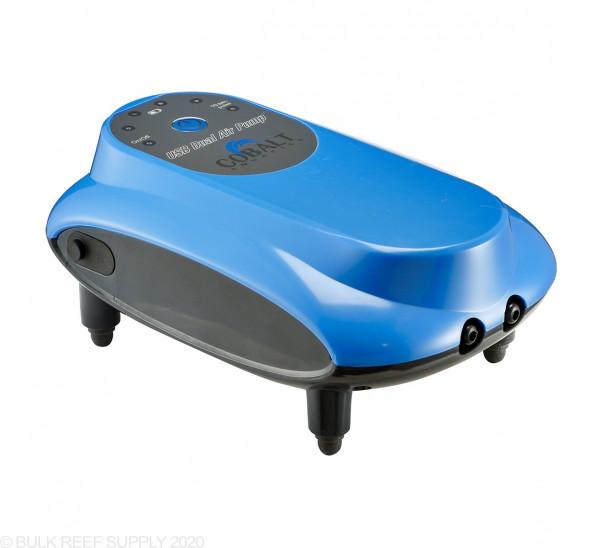 DC USB Air Pump - Dual Output - Cobalt Aquatics