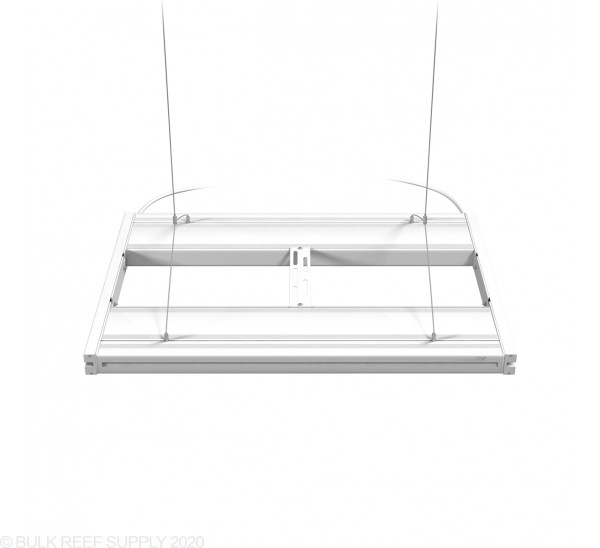 """24"""" Hybrid T5HO 4x24W Fixture with LED Mounting System White - Aquatic Life"""