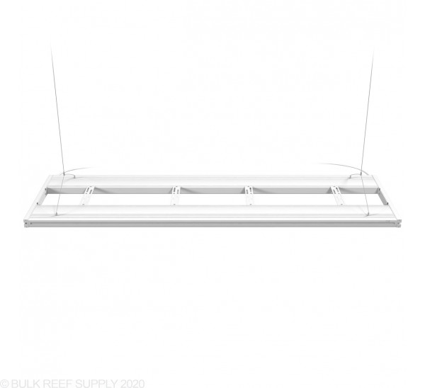 """60"""" Hybrid T5HO 4x24W Fixture with LED Mounting System White - Aquatic Life"""