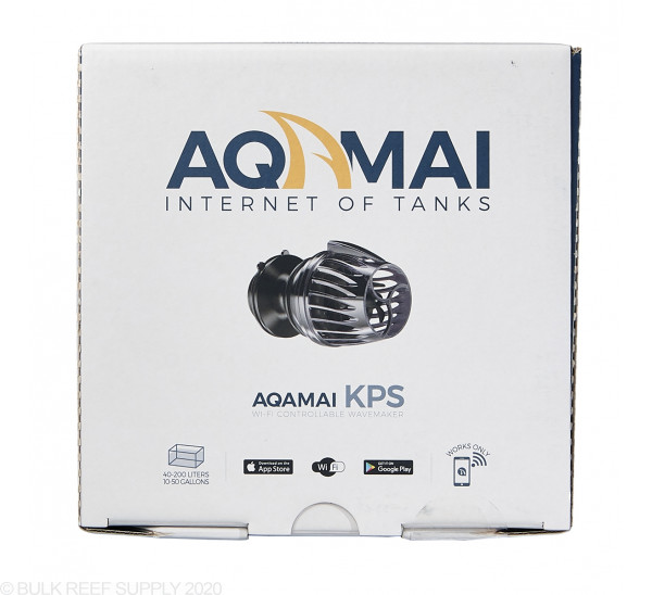 KPS WiFi Controllable DC Wavemaker Pump (1050 GPH) - Aquami