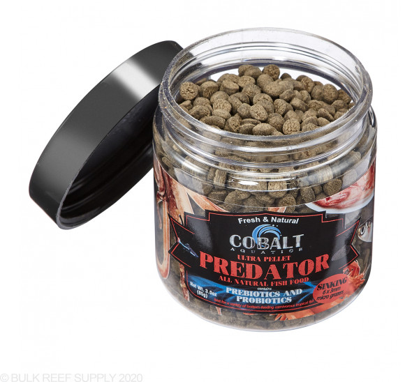 3oz Ultra Predator Micro Grazer Pellets - Cobalt Aquatics