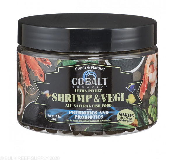 Ultra Shrimp & Vegi Grazer Pellets - Cobalt Aquatics