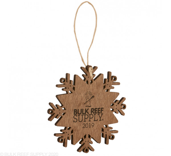 Wood Snowflake Ornament - Bulk Reef Supply