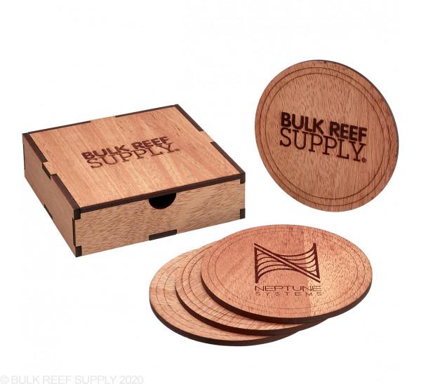 Wood Coasters (4-Pack) - Bulk Reef Supply