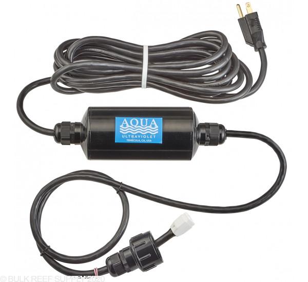 8 Watt Classic UV Sterilizer - Black Body - Aqua Ultraviolet