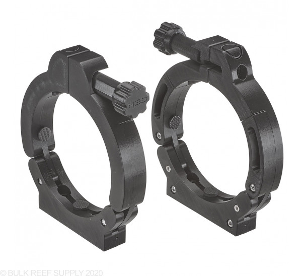 UV Sterilizer Mounting Clamps (2-Pack) - Black - Niche3D