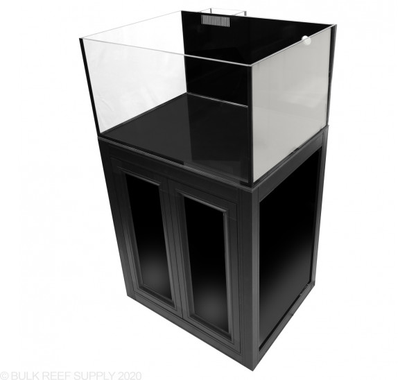Nuvo EXT 50 Lagoon Aquarium with Black APS Stand - Innovative Marine