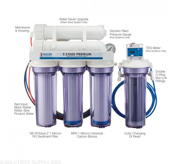 5 Stage Premium Plus RO/DI System - Bulk Reef Supply