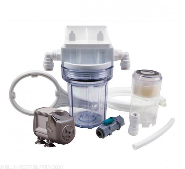 """BRS GFO & Carbon Reactor - 5"""" Single Pump Kit"""