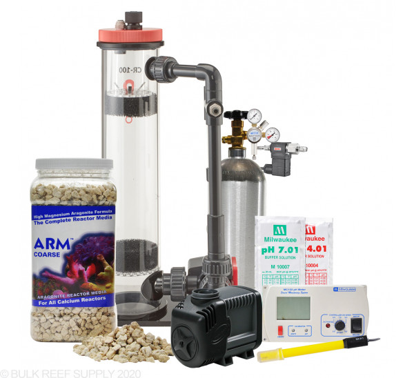 80g to 150g Calcium Reactor Starter Bundle - Reef Octopus