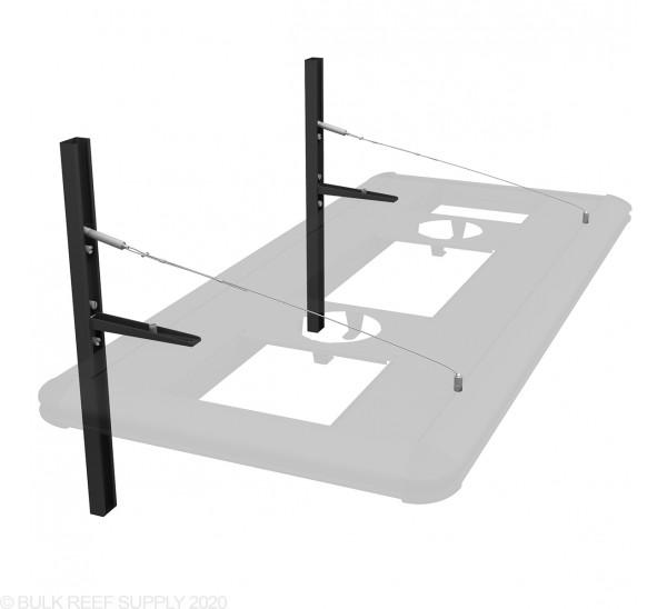 Floating Cantilever Hybrid Light Suspension Kit (Black) - Aquatic Life