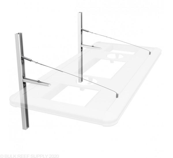 Floating Cantilever Hybrid Light Suspension Kit (White) - Aquatic Life