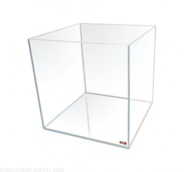 7.5 Gallon Cube Tank - Low Iron Glass