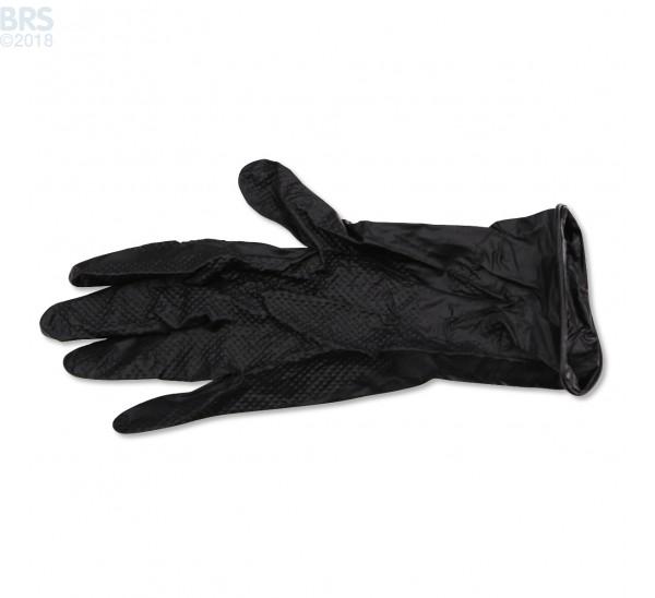 Textured Nitrile Black Fragging Gloves