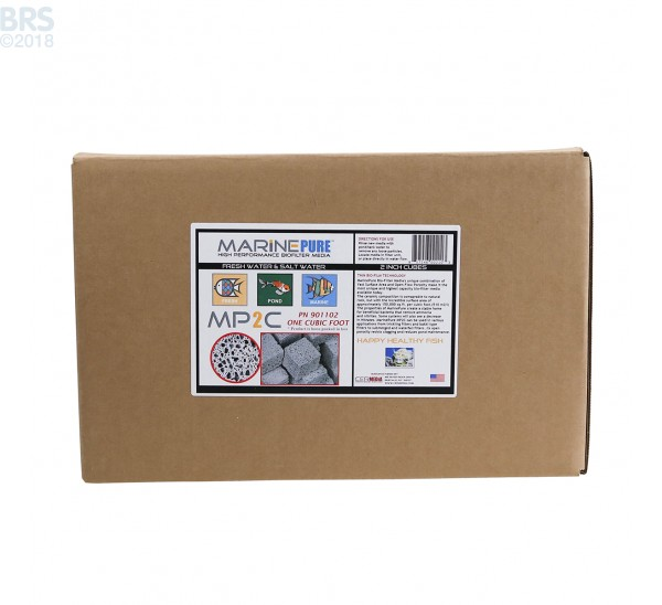 "MarinePure Ceramic Biomedia 2"" Cubes"