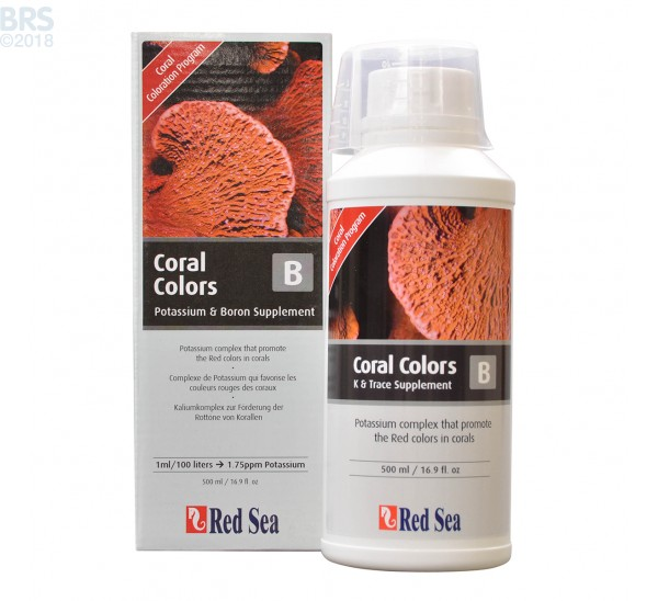 500 mL of Red Sea Coral Colors B