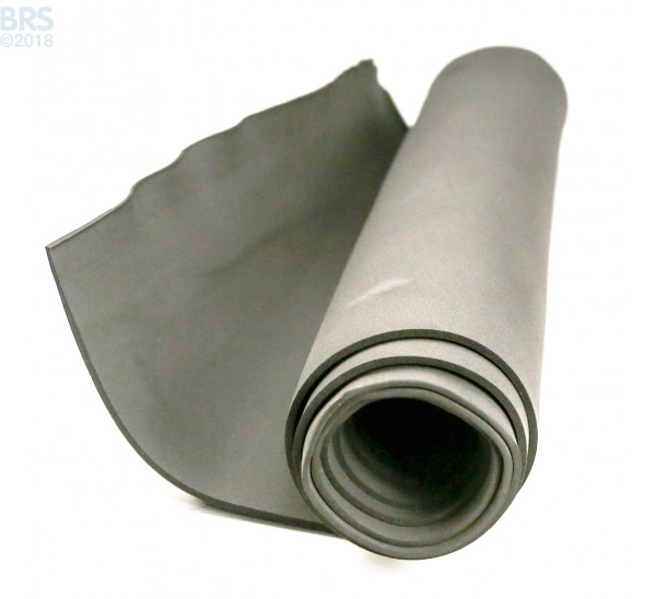 "Neoprene High Quality 1/8"" Thick Half Sheet 80"" x 24"""