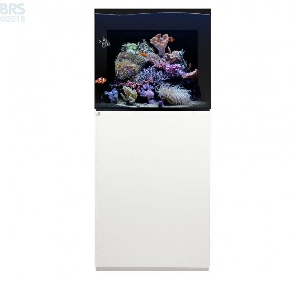 75.2 Aquarium Kit with White Cabinet Stand (49 Gallon) - Waterbox
