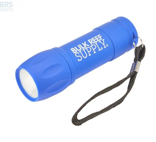BRS Rubberized COB Flashlight