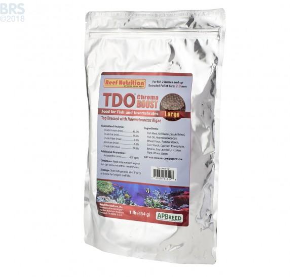 TDO Chroma BOOST Large Granule Fish Food - Reef Nutrition