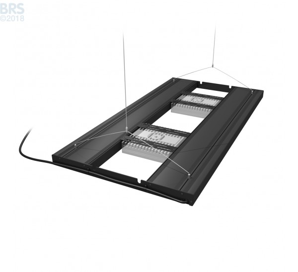 "36"" Hybrid T5HO 4x39W Fixture with LED Mounting System - Aquatic Life Ecotech Mounts"