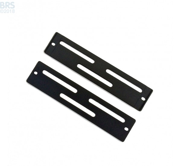 "16"" Hybrid Mounting System Bracket, Rectangular 5.375"" x 1.25 (Pair)"