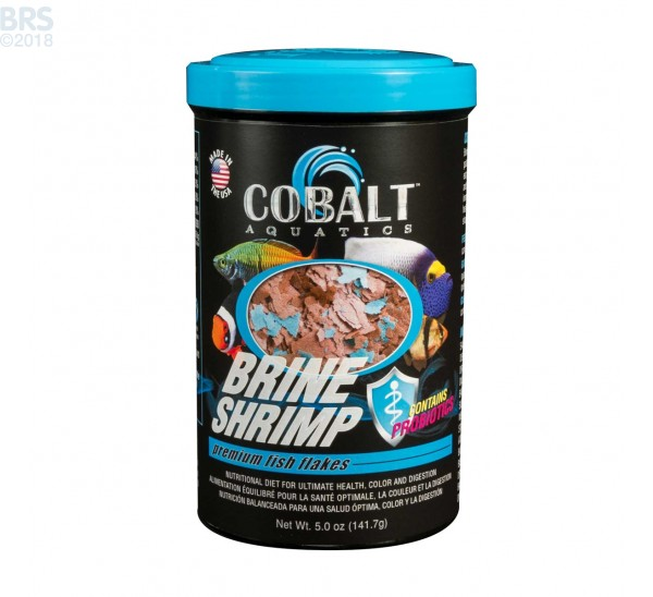 5 oz. Brine Shrimp Flakes - Cobalt Aquatics