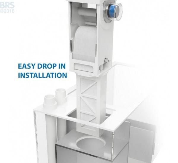 Di-4 Drop-In Fleece Filter System - Klir