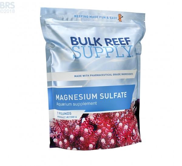 Bulk Magnesium Sulfate 7 Pounds - Bulk Reef Supply