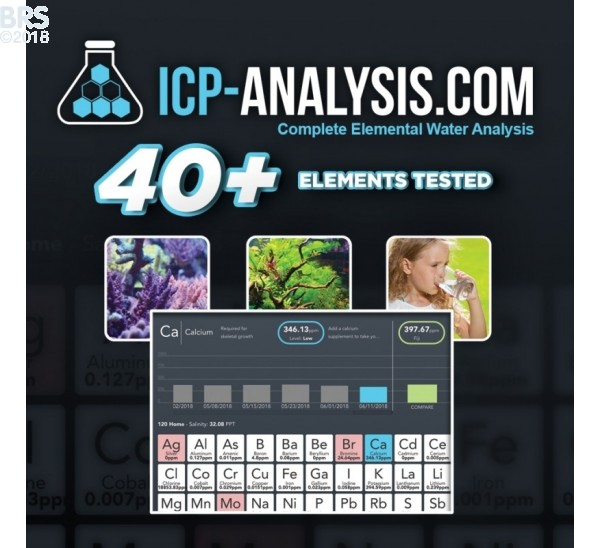 ICP Water Analysis - CoralVue