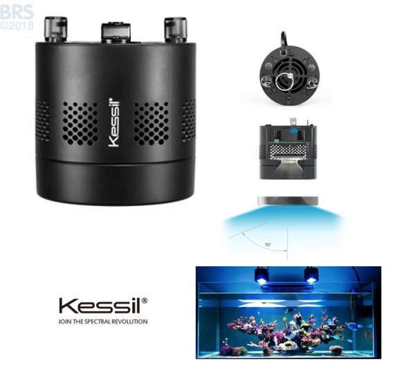 A360N-E Tuna Blue LED Aquarium Light - Narrow Angle (OPEN BOX) - Kessil