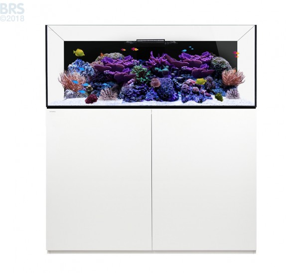 130.4 Platinum Reef System with White Cabinet (96 Gallon) - Waterbox