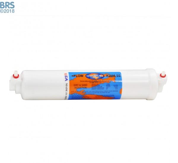 Omnipure Inline Sediment Filter