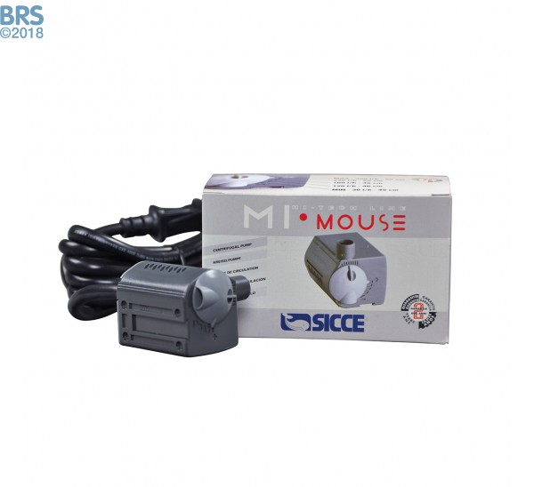 Sicce MI MOUSE Pump (82 GPH) with Packaging