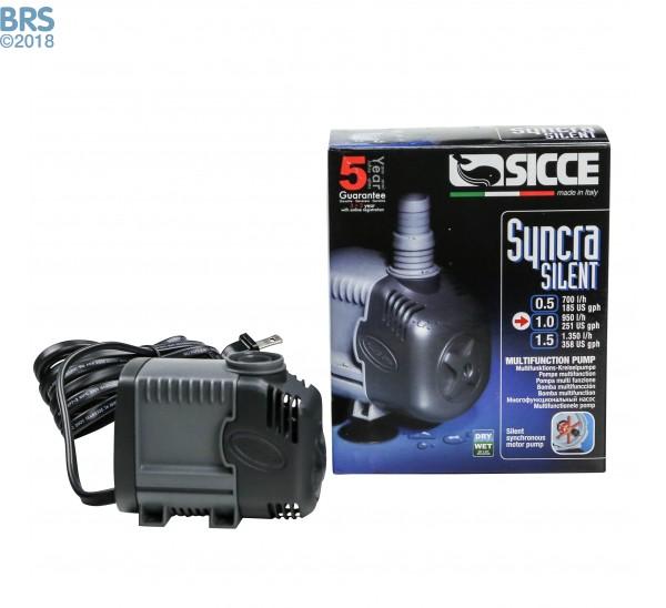 Sicce Syncra Silent 1.0 Pump (251 GPH)