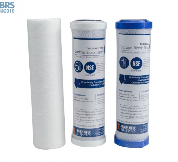 BRS 4 Stage RO Only Replacement Filter Kit