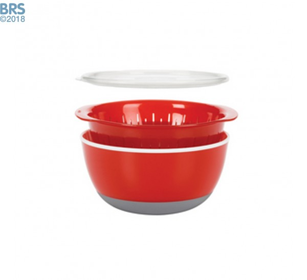 Frag Dipping Bowl with Strainer and Lid