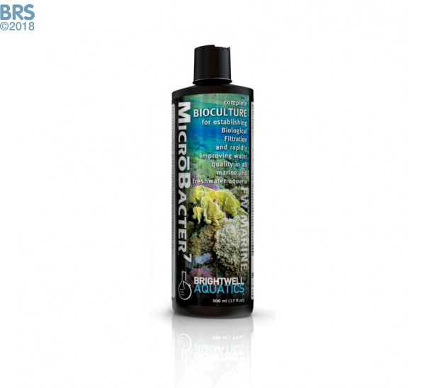MicrōBacter7 - Complete Bioculture for Marine and FW Aquaria 125ml