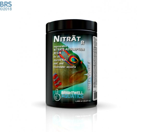 nitrater- regenerable nitrate adsorption resin