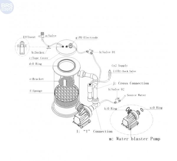 """Super Reef Octopus CR5000 9"""" Calcium Reactor"""